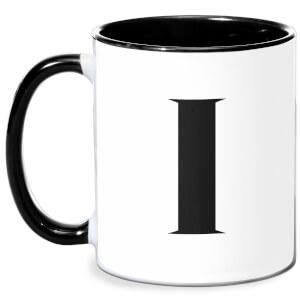 I Mug - White/Black