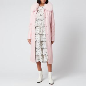 Saks Potts Women's Charlot Coat - Baby Pink