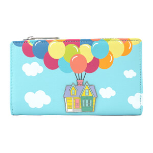 Loungefly Disney Pixar Up Balloon House Flap Wallet