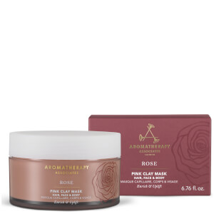 Aromatherapy Associates Exclusive Rose Pink Clay Mask 200ml
