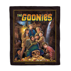 The Goonies Classic Cover Art Fleece Blanket