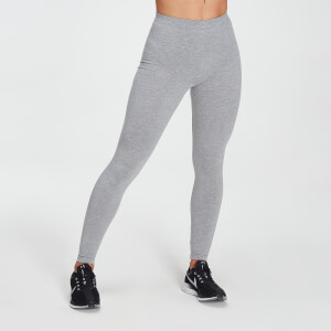 MP Women's Outline Graphic Leggings - Grey Marl