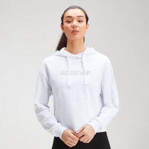 MP Women's Outline Graphic Hoodie - White