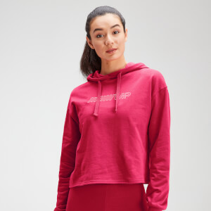 MP Women's Outline Graphic Hoodie - Virtual Pink