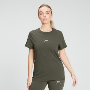 MP Women's Central Graphic T-Shirt - Dark Olive