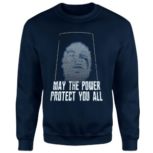 Power Rangers May The Power Protect You Sweatshirt - Navy
