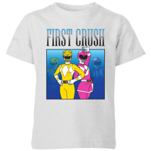 Power Rangers First Crush Kids' T-Shirt - Grey