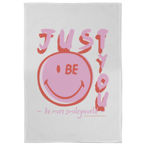 Smiley Just Be You Tea Towel