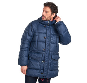 Barbour Men's Belgo Quilted Jacket - Navy