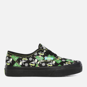 Vans X The Simpsons Kids' Authentic Trainers - Glow Bart