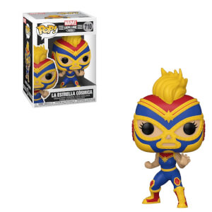 Marvel Luchadores Captain Marvel Pop! Vinyl