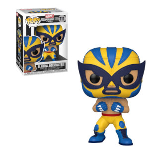 Figura Funko Pop! - Lobezno (El Animal Indestructible) - Marvel Luchadores