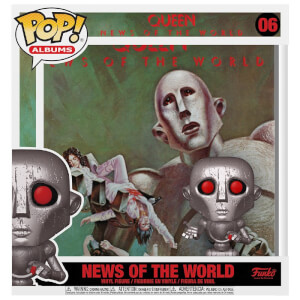 Figurine Pop! Album Queen - News Of the World