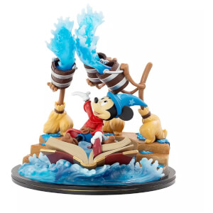 Disney Sorcerer Mickey Q-Fig Max Elite Limited Edition - Fantasia 80th Anniversary
