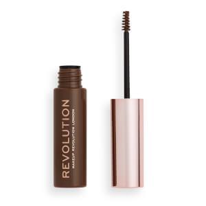 Makeup Revolution Brow Gel - Medium Brown