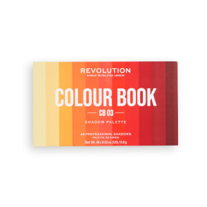 Makeup Revolution Colour Book Eye Shadow Palette - CB03