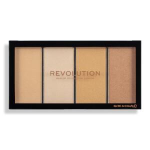 Makeup Revolution Reloaded Lustre Highlighter - Lights Warm
