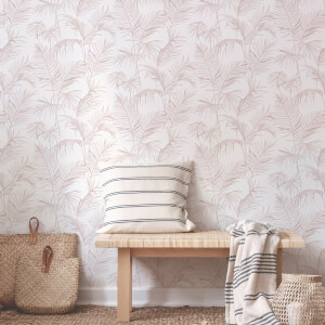 Superfresco Easy Litho Tropical Pink Wallpaper