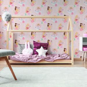 Disney Character Princess Pastel Pink wallpaper