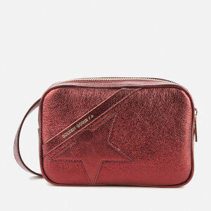 Golden Goose Deluxe Brand Women's Star Belt Bag - Metallic Aubergine