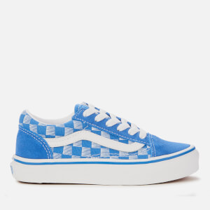 Vans Kids' Racers Edge Old Skool Trainers - Blue/True White