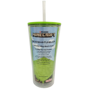 Minecraft Sticker Soda Cup