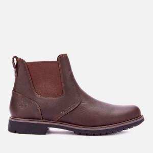 Timberland Men's Stormbucks Leather Chelsea Boots - Dark Brown