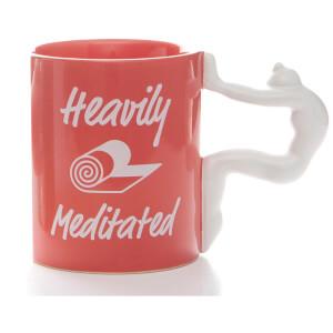 Yoga Mug - Heavily Meditated