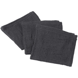 Broste Copenhagen Linen Dish Cloth - Set of 3 - Peat