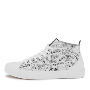 Akedo x Goonies White Signature High Top