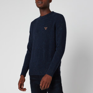 Barbour Beacon Men's Roan Knit Jumper - Navy