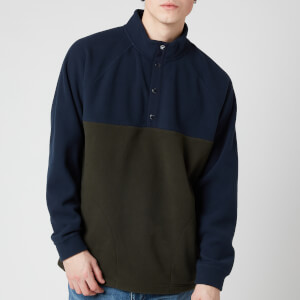 Barbour Beacon Men's Colt Half Snap Sweatshirt - Navy