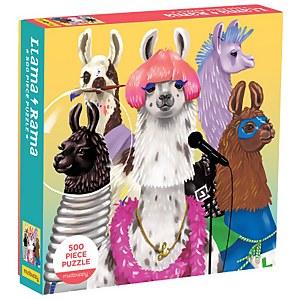 Llama Rama Family Jigsaw Puzzle (500 Pieces)