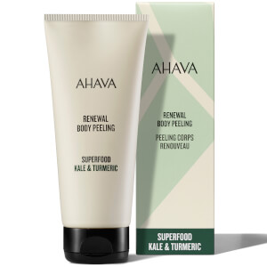 AHAVA Renewal Kale and Turmeric Body Peeling Scrub 200ml