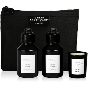 Urban Apothecary Velvet Peony Luxury Bath and Fragrance Gift Set (3 Pieces)