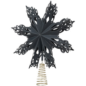 Broste Copenhagen Star Tree Topper - Blue