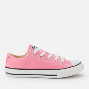 Converse Kids' Chuck Taylor All Star Ox Trainers - Pink