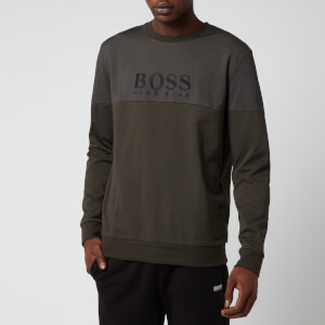 BOSS Men's Tracksuit Sweatshirt - Open Green