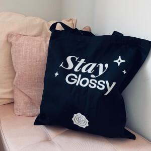 GLOSSYBOX Stay Glossy Tote Bag - Black