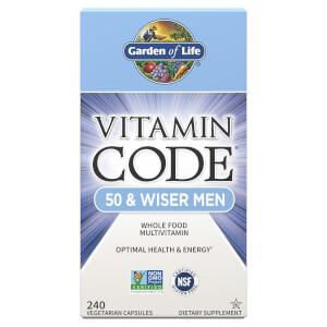 Vitamin Code 50 and Wiser Men 240ct Capsules