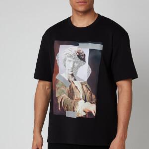 HUGO Men's Danberra Statue T-Shirt - Black