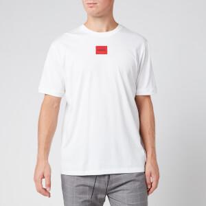 HUGO Men's Diragolino Box Logo T-Shirt - White