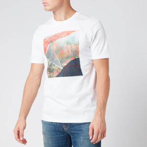 BOSS Men's Tomio 5 T-Shirt - Natural