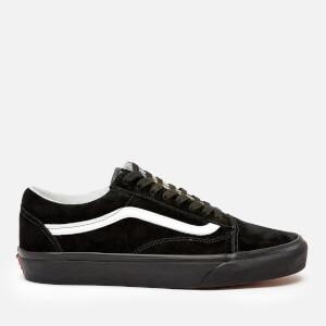 Vans Men's Old Skool Suede Trainers - Black/Black