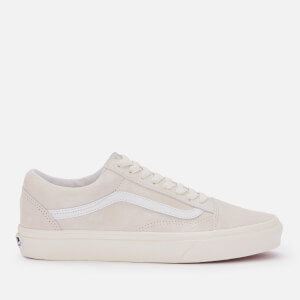 Vans Old Skool Suede Trainers - Marshmallow/True White