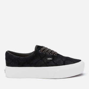 Vans Women's Animal Era Platform Trainers - Emboss/Black
