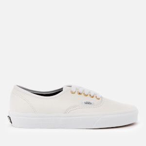 Vans Women's Leather Authentic Trainers - True White/True White