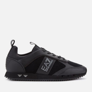 Emporio Armani EA7 Men's Runner Trainers - Black