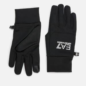 Emporio Armani EA7 Men's Train Softshell Gloves - Black
