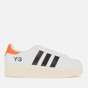 Y-3 Men's Hicho Trainers - White/Black/Red